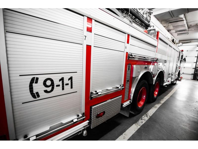 VIRGINIA DUMFRIES-TRIANGLE VOL FIRE DEPT PATCH