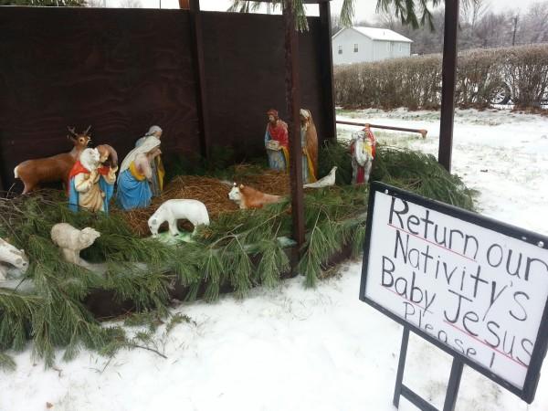 Enfield Family Seeks Return of Missing Baby Jesus Figure ...