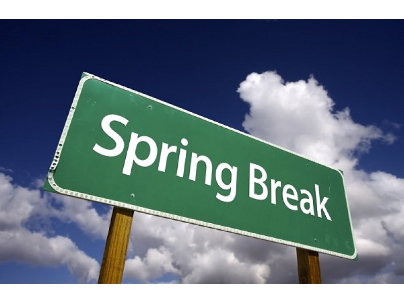 2016 spring break dates