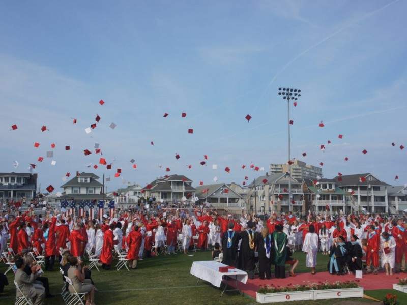 Ocean City High School Graduates 347 Students Ocean City
