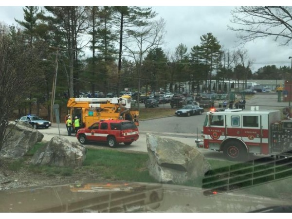 Tractor Trailer Crash In Nashua Causes Power Outages