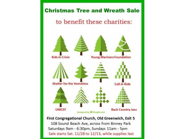 Christmas Tree Sale To Benefit Local Charities Greenwich