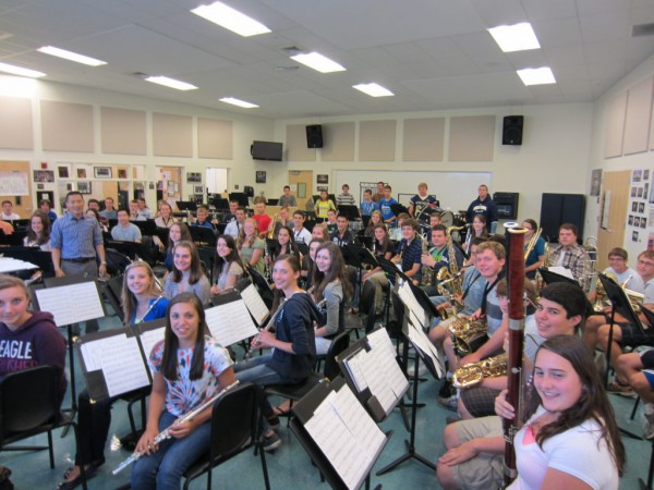 North andover patch band competition results