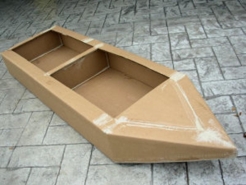 Лодка сделать своими руками для детей