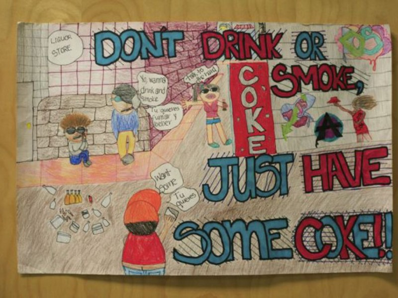 franklin middle dare poster contest winners owings mills