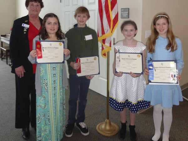 Winners Announced for DAR American History Essay Contest and Good ...