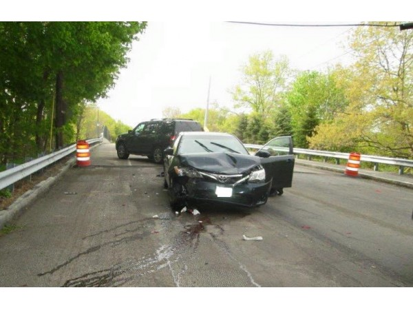Car Accident Tuesday Morning Injures Two