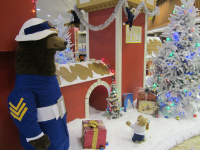 milwaukee tradition continues: bmo harris bank display