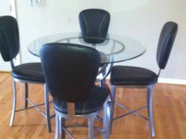 Glass Dining Table Chairs Birmingham Sale On Sich