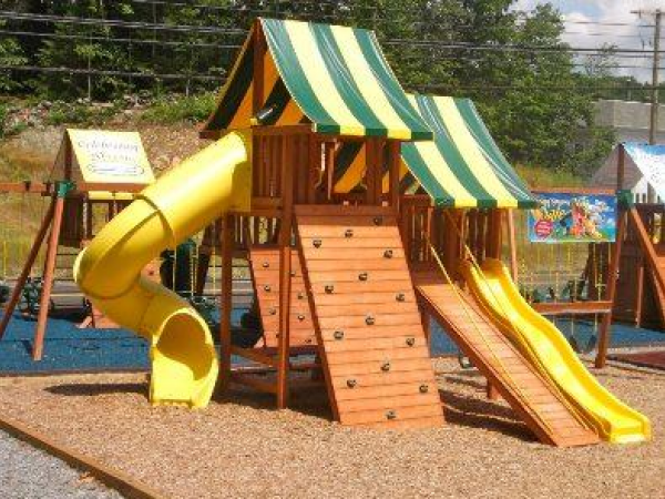 How And When To Stain Your Wooden Swing Set Southeast