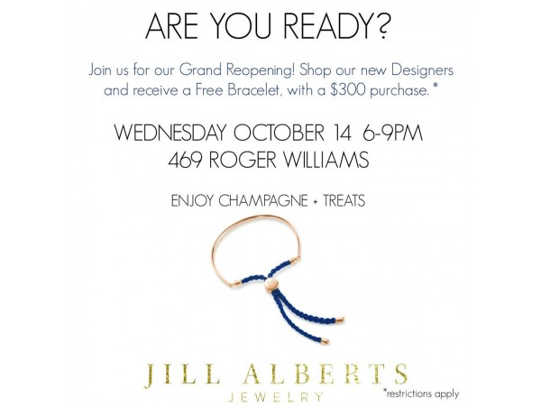 Highly anticipated grand reopening of jill alberts jewelry for Jill alberts jewelry highland park