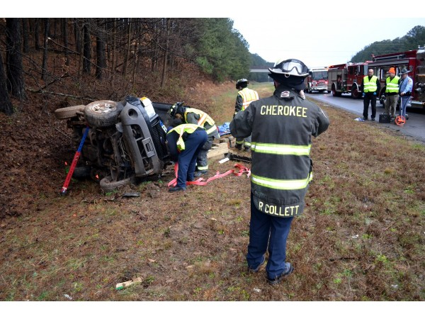 Car Accident Interstate  Kennesaw Ga