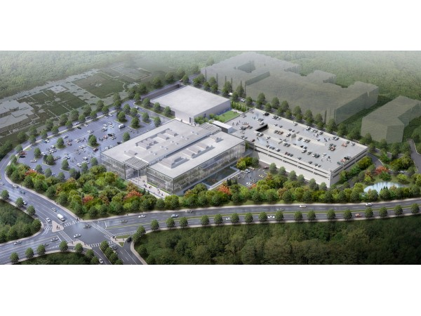 Mercedes benz usa releases rendering of new headquarters for Mercedes benz usa headquarters address