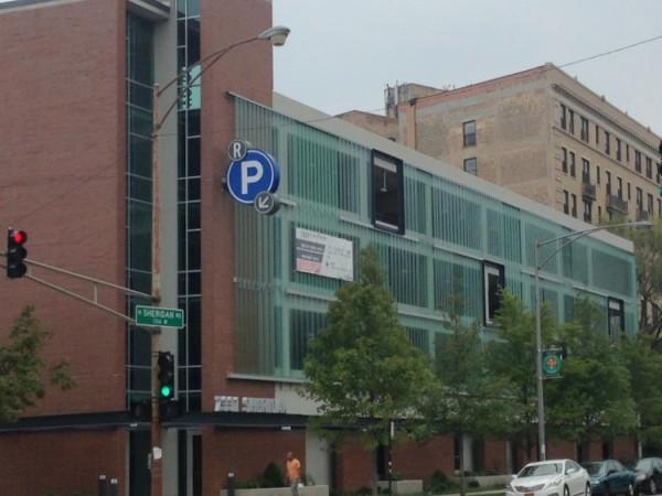 Sheridan sherwin parking garage in rogers park reopens for Garage builders evanston il