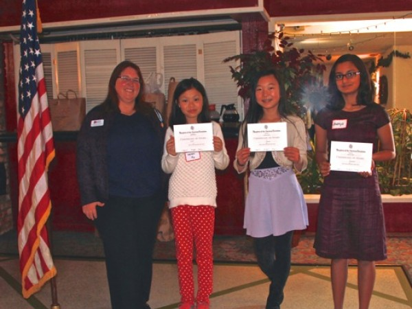 daughters of the american revolution essay contest topic Daughters of the american revolution honored writers, from left, jack reilly, divya sundar, namrata nair and chloe nguyen the los altos chapter of the daughters of the american revolution sponsors an annual essay contest for students on a topic related to american history.