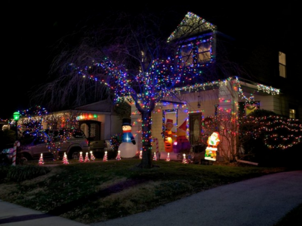 Turn Off Your Holiday Lights At Night, Saratoga