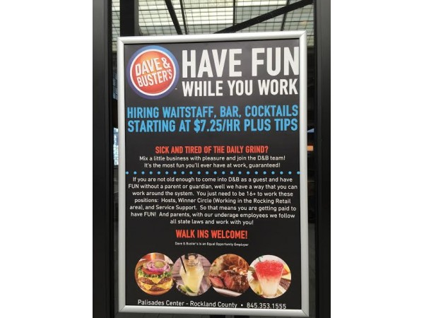 Last week we had the opportunity to attend the preview night for the brand new Dave and Busters that is now open in Florence, KY. This place was amazing!