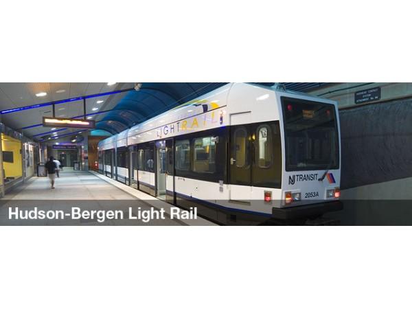 Hudson Bergen Light Rail Service Restored After Storm