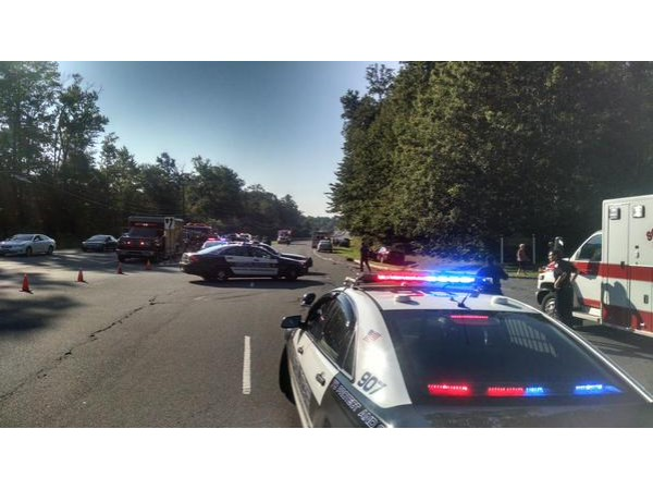 East Brunswick Car Accident Route