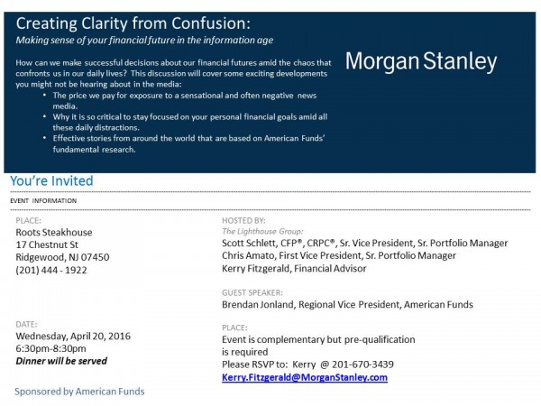 Creating Clarity From Confusion Making Sense Of Your Financial Future In The Information Age