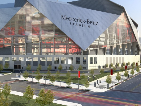 Atlanta Gets Super Bowl 53 Mercedes Benz Stadium Hosts