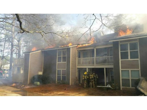 Fire forces residents from 20 unit apartment building for 6 unit apartment building