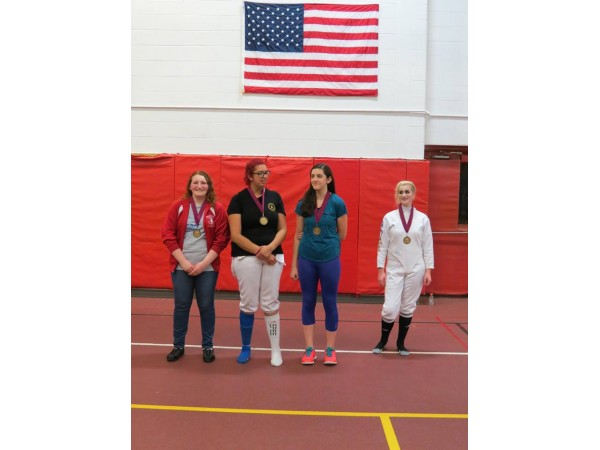 Waterford Lancer Fencers Took Home Four Medals Waterford