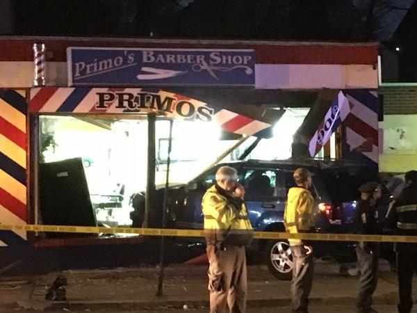 Barber Shop Jamaica Plain : BOSTON?An SUV crashed into a barbershop in Mattapan Wednesday night ...