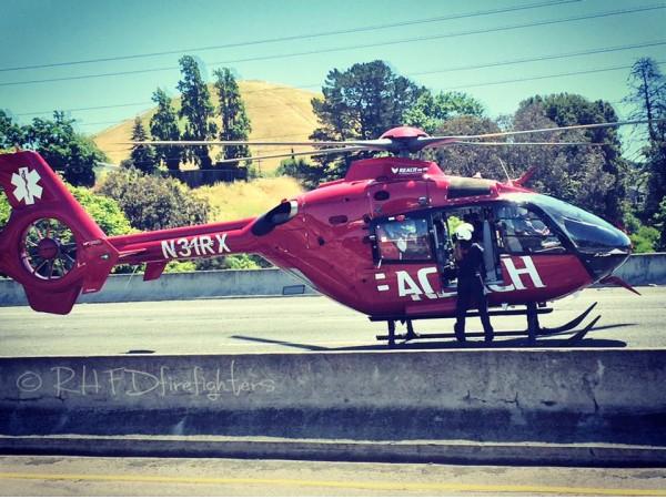 Car Accident California Jan   Female Injured