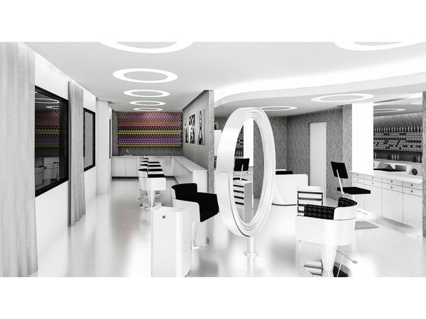 A new home for becker salon on greenwich avenue for 7th street salon