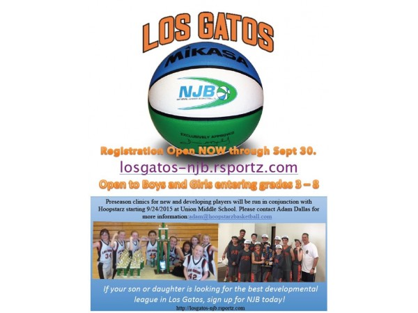 Youth Basketball League for Boys & Girls - Los Gatos, CA Patch