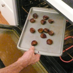 how to cook chestnuts in toaster oven