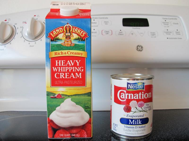 thanksgiving tip heavy cream vs evaporated milk