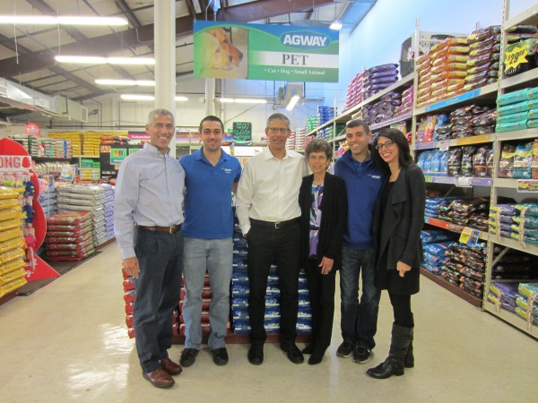 The bergantino family celebrates 25 years of agway for Michaels crafts manchester ct