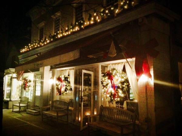 southampton area restaurants serving christmas eve