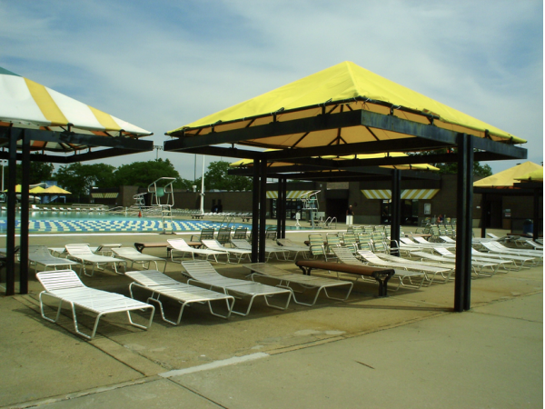 County Puts New Chairs At North Woodmere Park Pool Five Towns Ny Patch