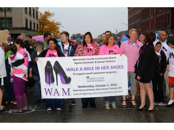 Concord Community Agrees To Walk A Mile In Her Shoes