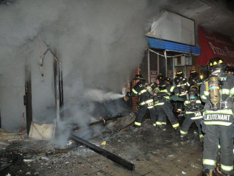 Fire At Chinese Food Restaurant Damages Neighboring