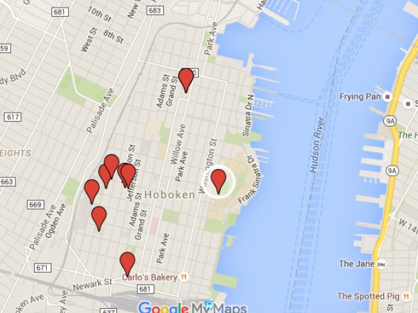 sex offender list ny map