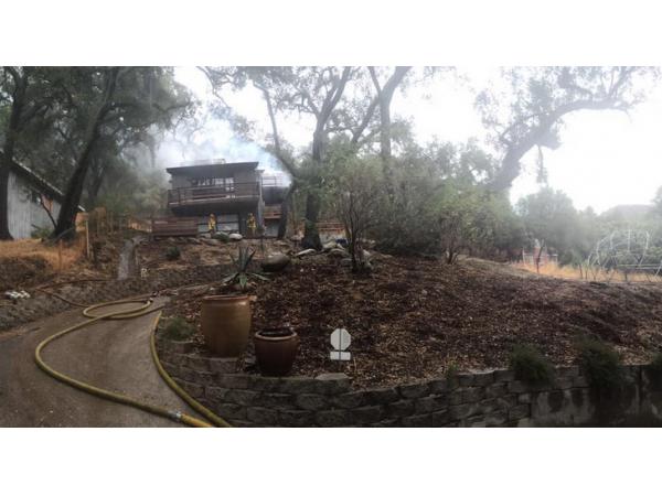 Fire Destroys Topanga Home Woodland Hills Ca Patch