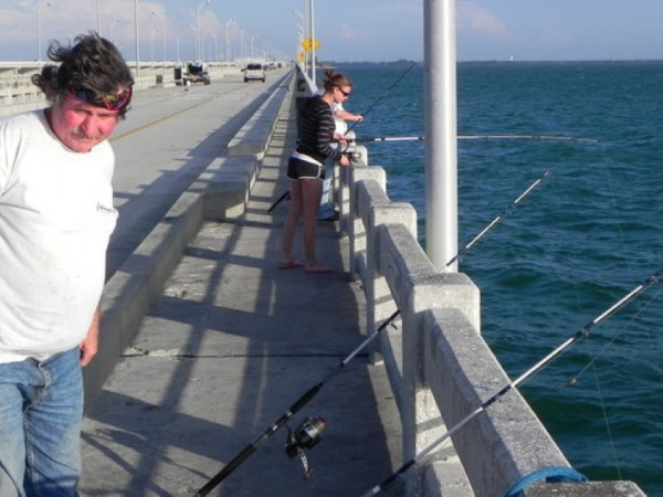 Skyway piers an overlooked waterfront fishing highway for Tides 4 fishing skyway