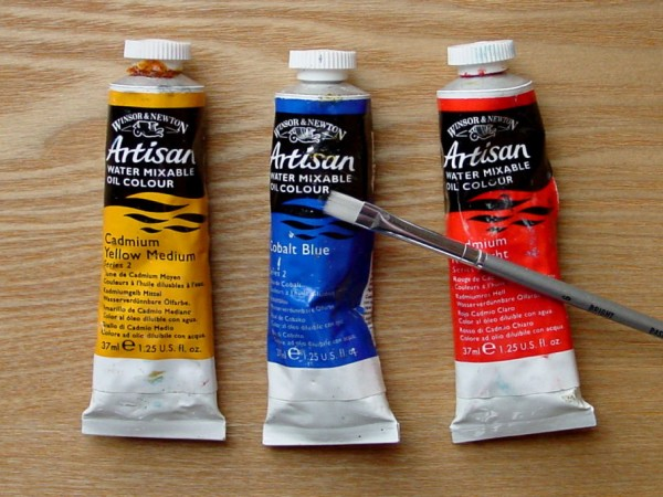 Mixing Water Soluble Oil Paints