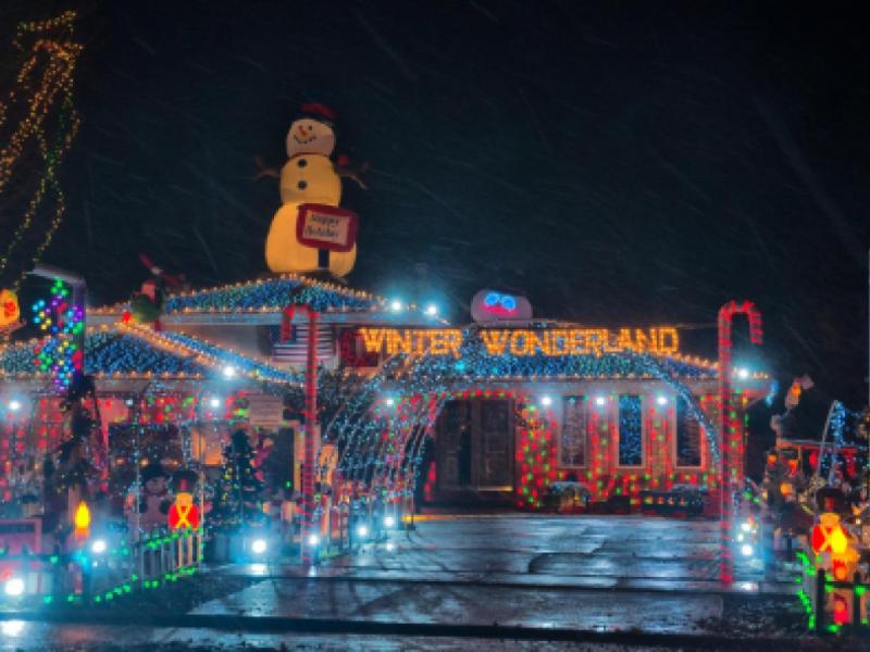 Find  Christmas Lights Displays Tinley Park