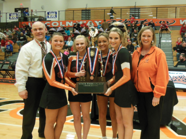 Bringing It Home Lincoln Way West Cheerleaders Celebrated