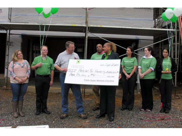 How Much Does It Cost To Patch A Roof Publix Super Markets Charities Donates $4 Million to ...