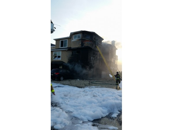 Jet Ski Fire Spreads Engulfs Long Beach Township Home