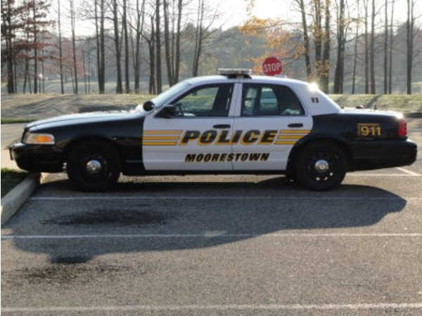 Moorestown police weekly crime log oct 10 16 2014 for Motor vehicle in mt holly nj