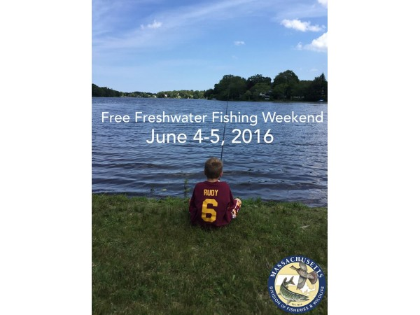 It 39 s free freshwater fishing this weekend in massachusetts for Freshwater fishing in massachusetts