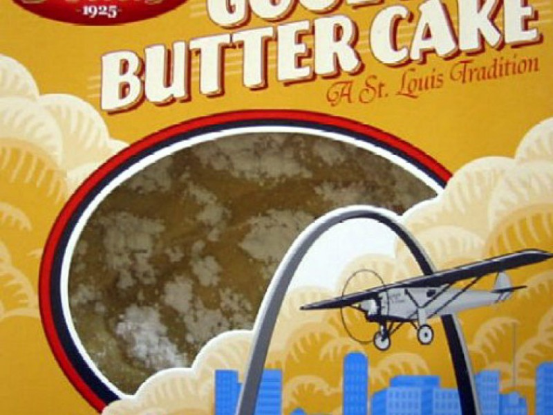 St Louis Style Gooey Butter Cake