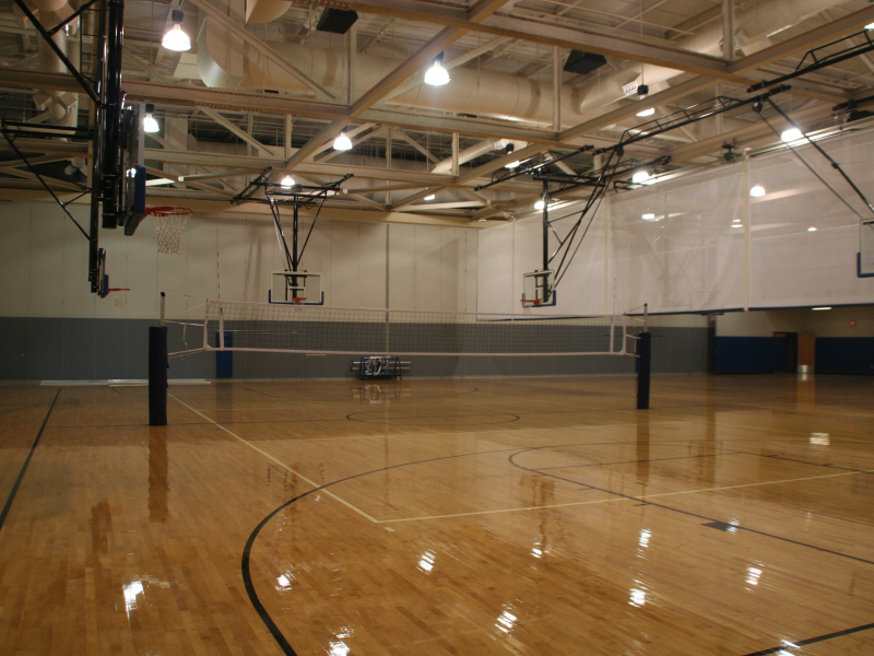 Bensalem high school gym opening to public sept 28 for How much is it to build a basketball gym